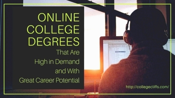 Online College Degrees That Are High in Demand and With Great Career ...