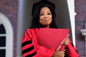 Oprah graduation image