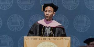 John Legend college graduation