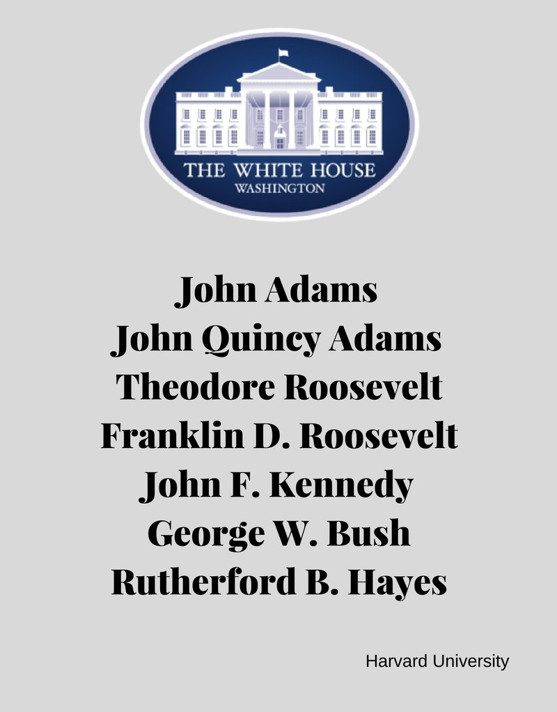us presidents who went to harvard