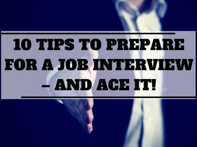 job interview tips - college cliffs