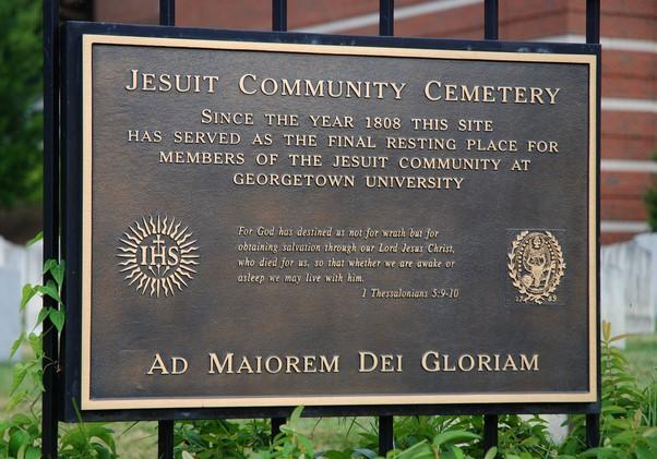 Georgetown U Jesuit Cemetery