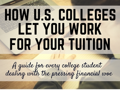 us colleges work for your tuition