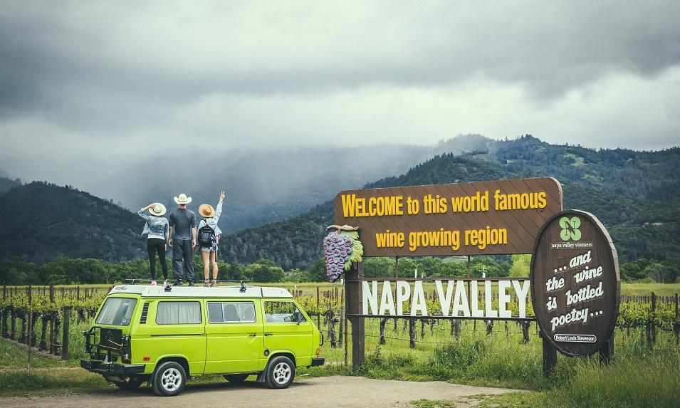 Napa Valley in Califonia