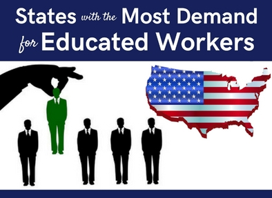 States with Most Demand for Educated Workers