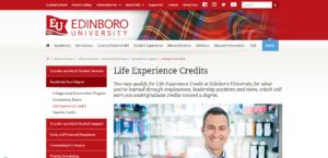 edinboro- life experiences