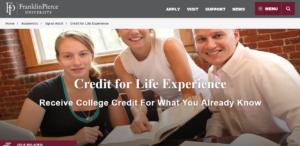 franklin- life experiences
