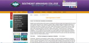 southeast arkansas- life experiences