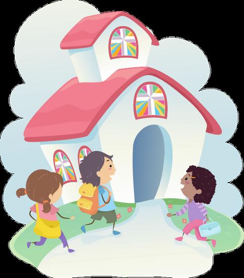 Christian-school-concept