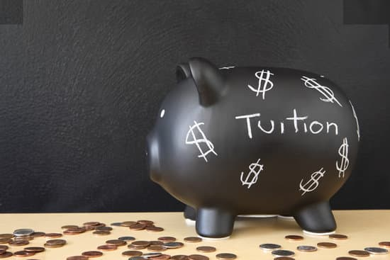 Black Piggy Bank with Dollar Signs with the word tuition