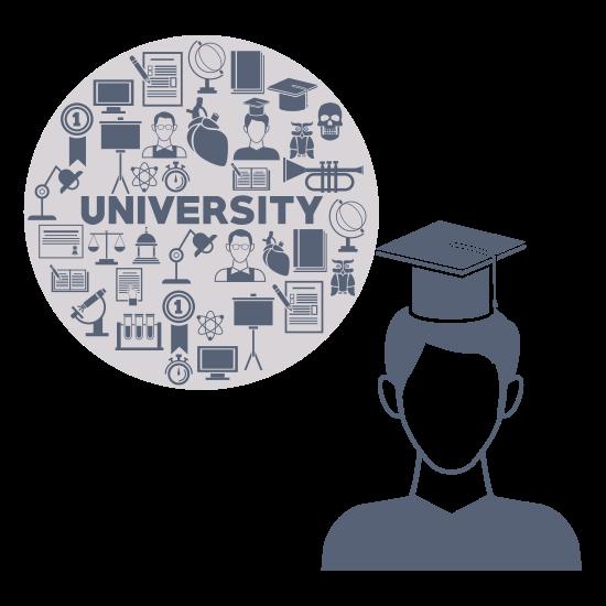 university programs concept