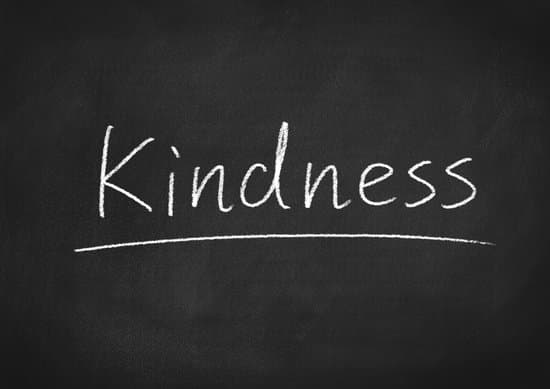 kindness concept word on a chalkboard background