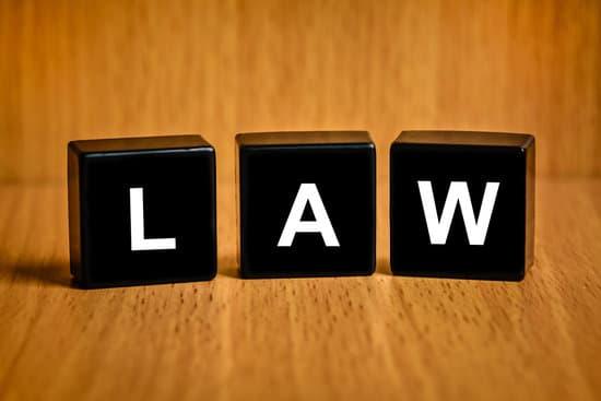 law text on black block