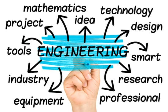 Engineering Word Cloud tag cloud isolated