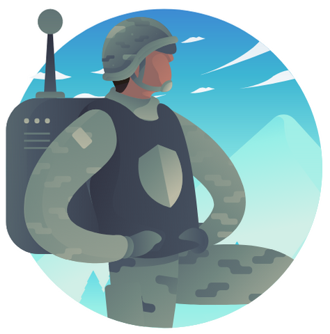 military divider 1
