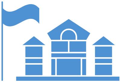 college building concept