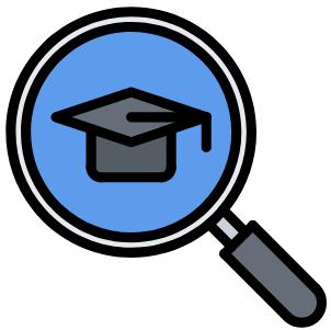 college search concept