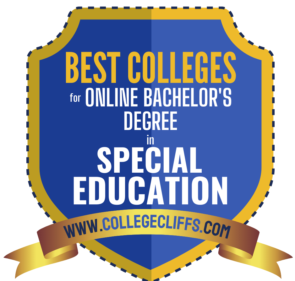 Best Online Schools For Bachelor's Degree In Special Education Badge