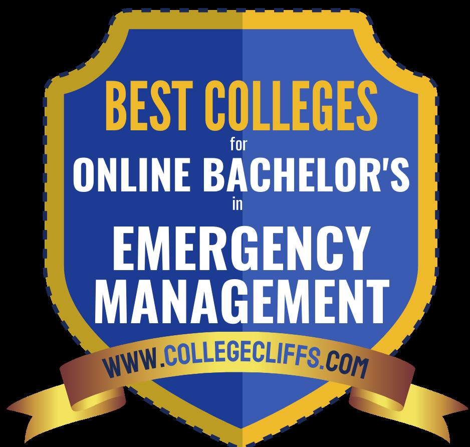 Best Online Schools for Bachelor_s in Emergency Management Badge