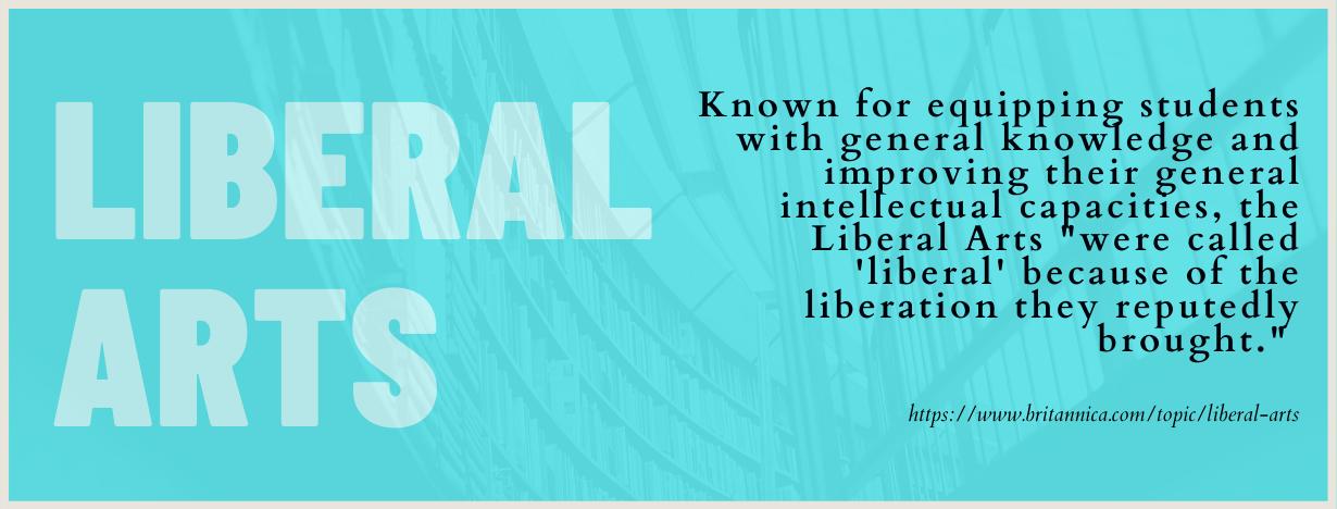 Liberal Arts fact 1