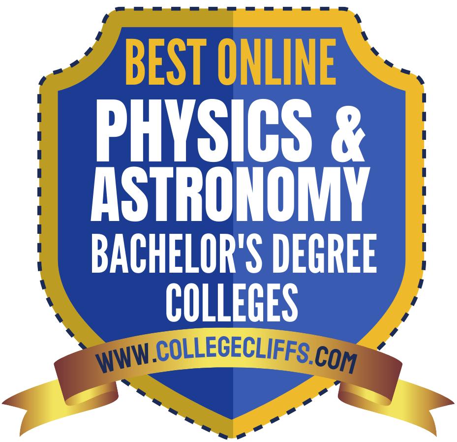 Online Bachelor's Physics Astronomy - badge