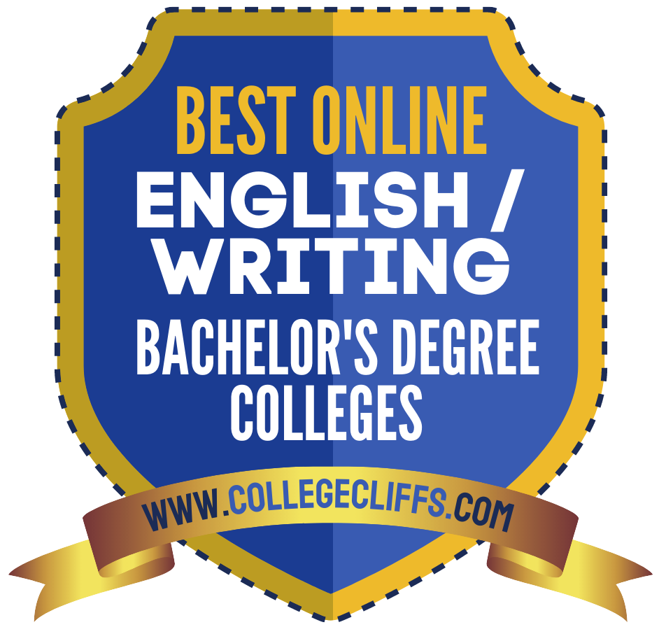 The 15 Best Online English - Writing Bachelor's Degree Colleges of 2021 - badge