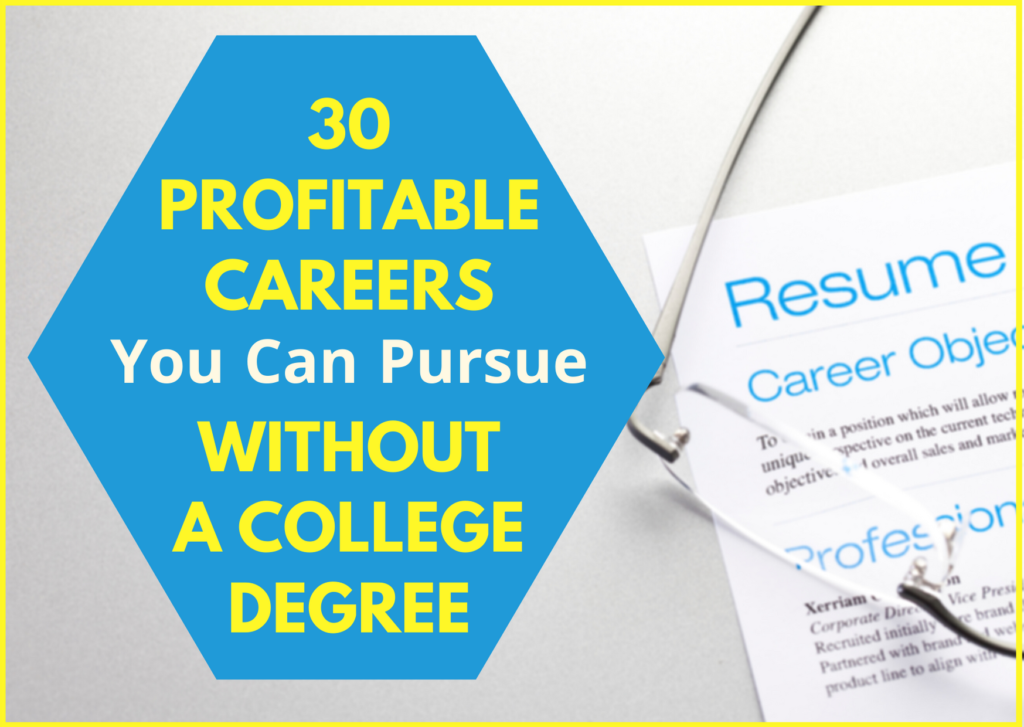 30 Profitable No-college Careers - featured image