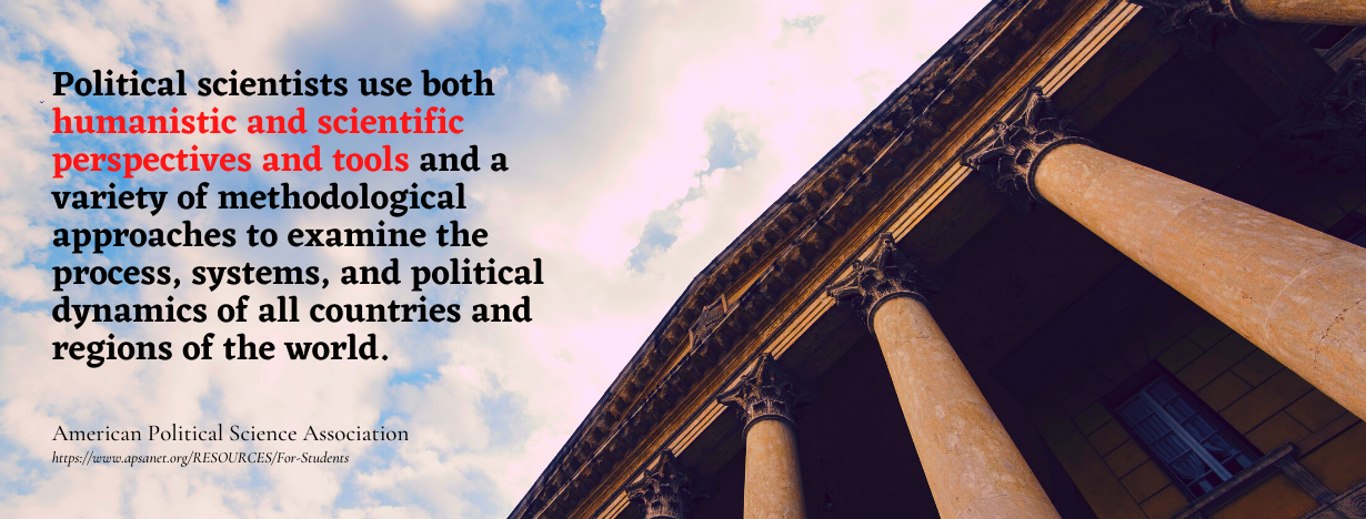 Political Science Career Guide - fact on political scientists methods, tools, and approaches