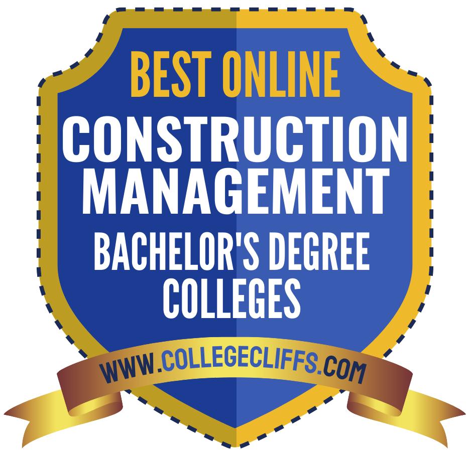 Bachelor in Construction Management Online Degree - badge