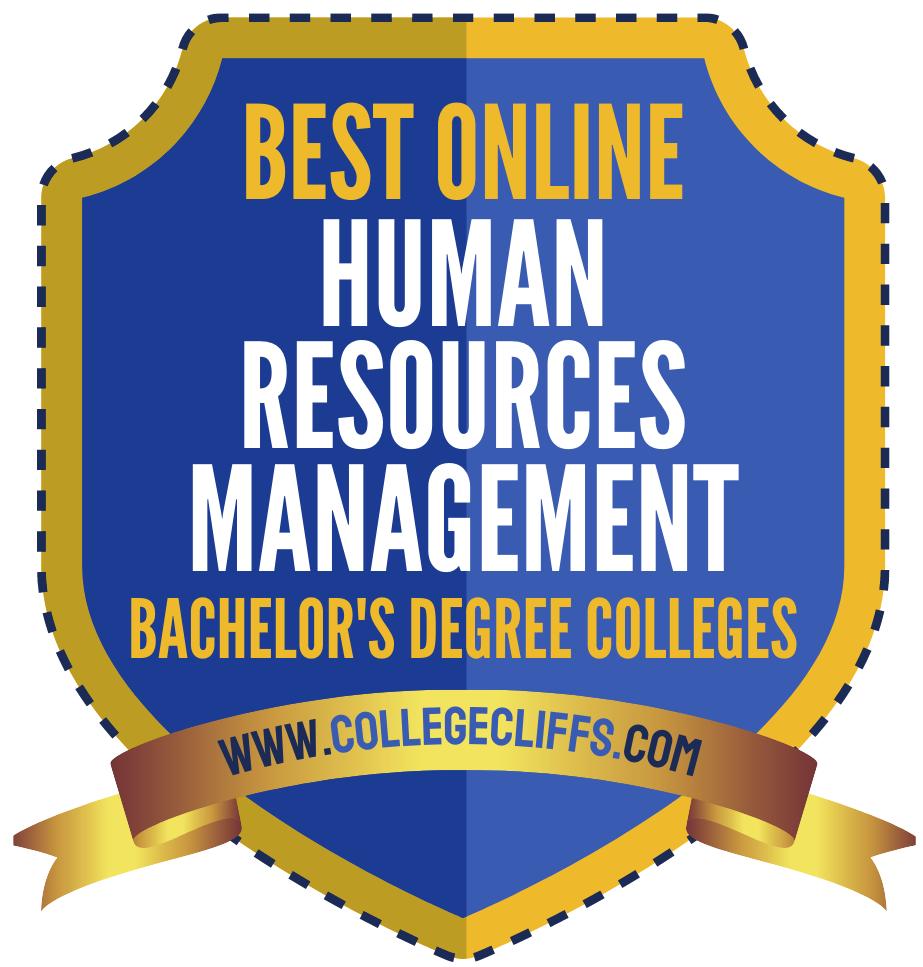 Online HR Management Bachelor's Programs - badge