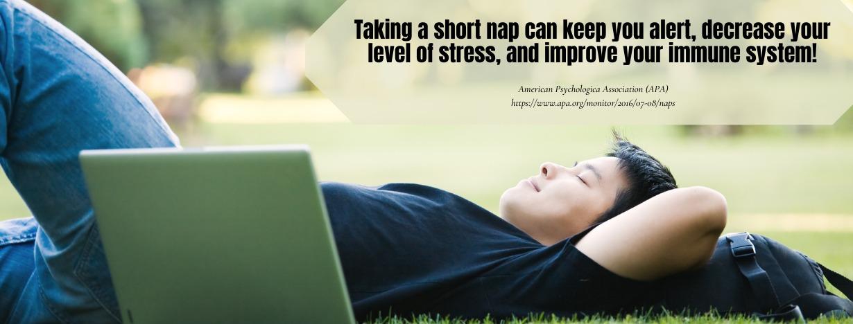 Optimizing Student Energy Fact - Benefits of Taking a Nap