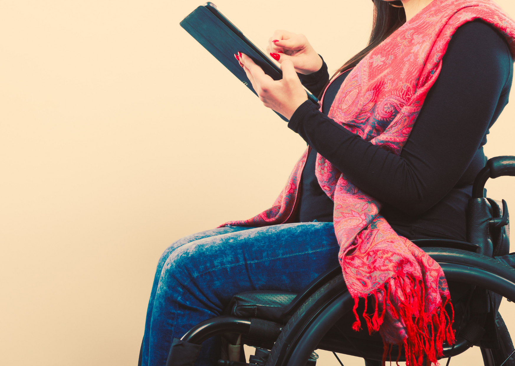 disabled student - image concept