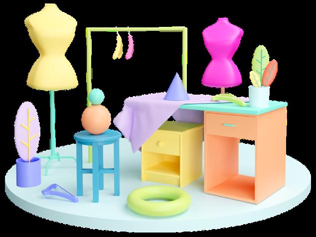 1 - Fashion Design majors