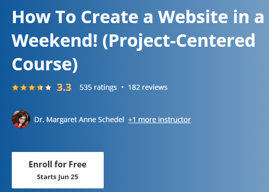 6 - Free Online College Courses for Web Design and Development