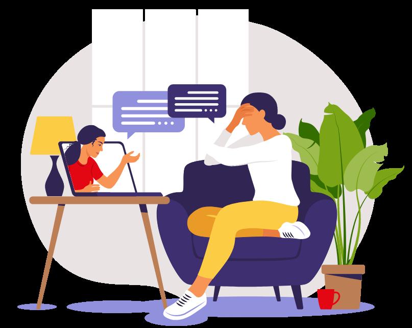 Best Online Mental Health Counseling Services - Divider