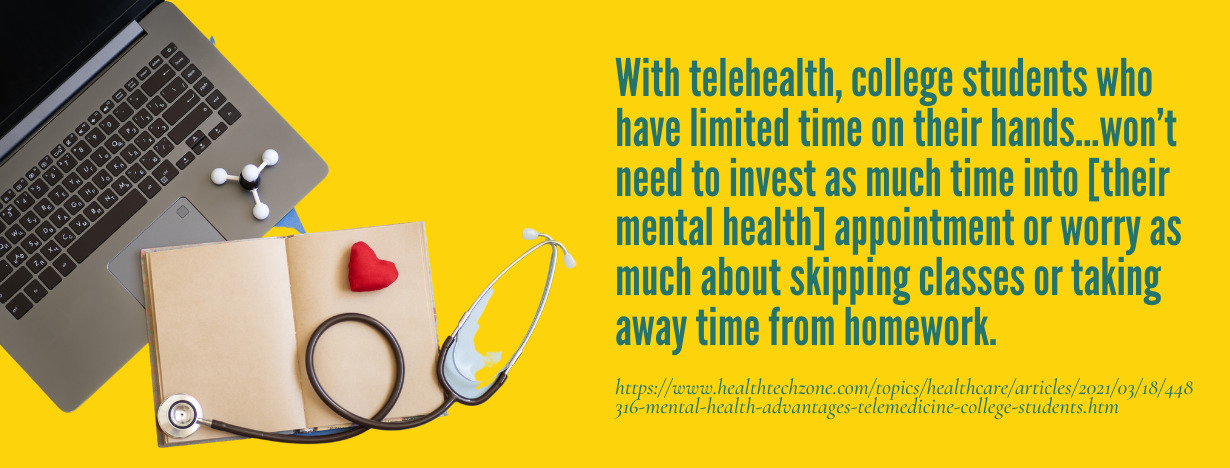 Telehealth College Students fact 2