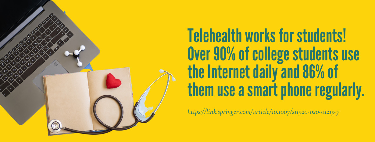 Telehealth College Students fact 3