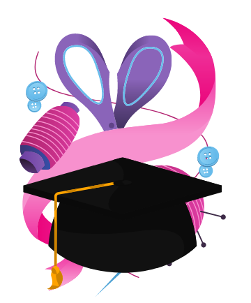 2 - Fashion Design degree holder