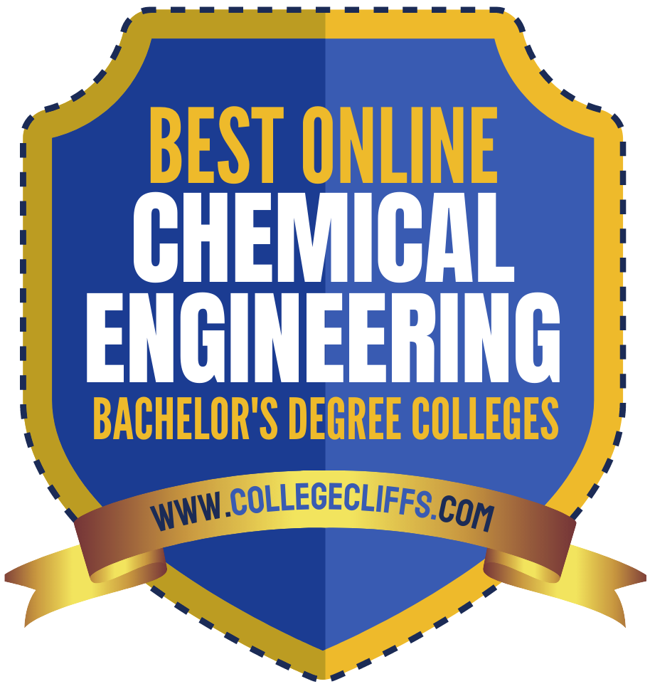Best Online Bachelor's Chemical Engineering - badge