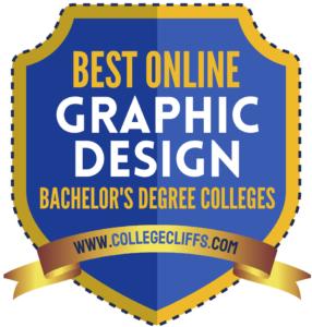 Best Online Bachelor's Graphic Design - badge