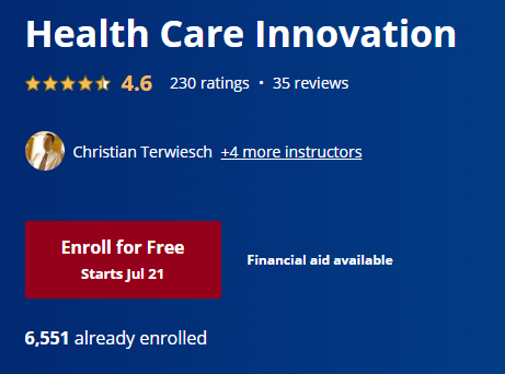 Free Online College Courses for Medicine and Health Care 10