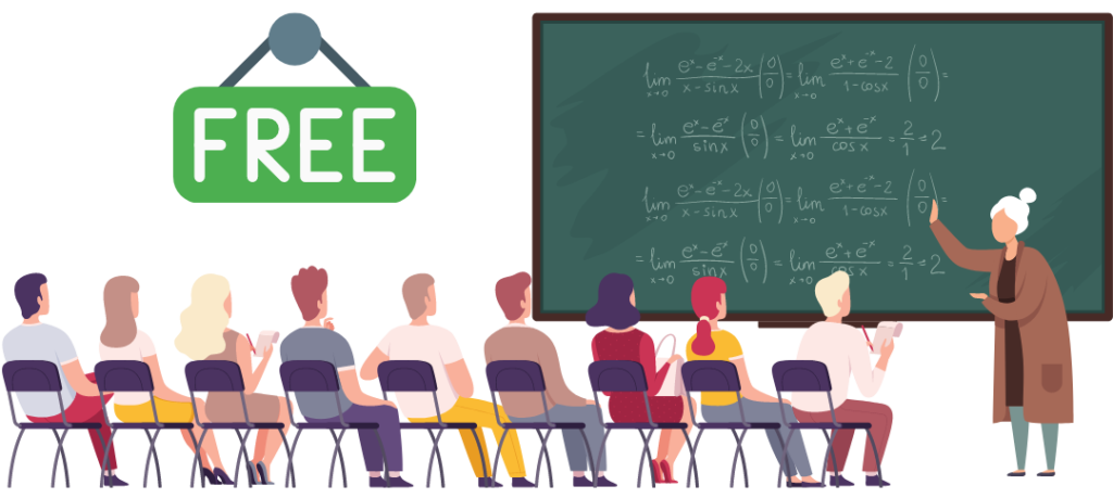 Free Online College Courses for Teaching and Education - Divider