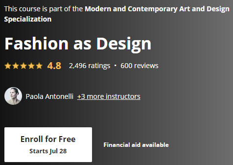 Free Online Courses for Art and Design 7