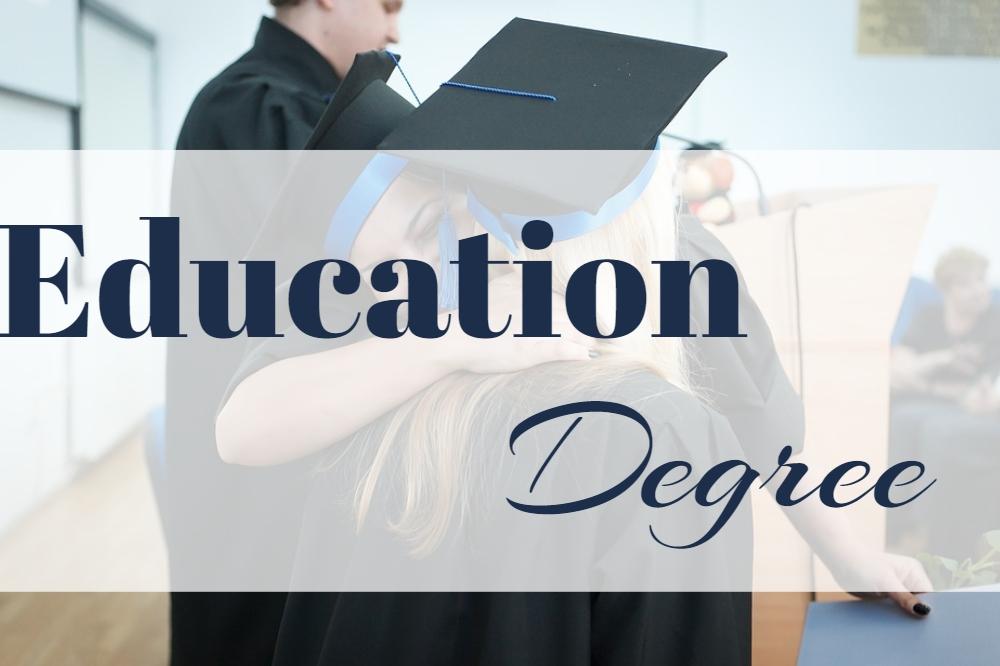 Education Degree Courses
