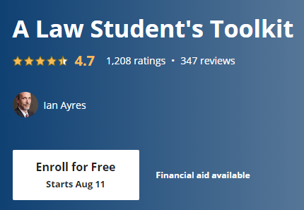 Free Online Courses for Law 4