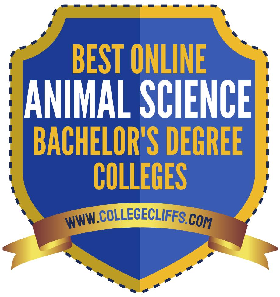 Best Online Bachelor Animal Science Degree Colleges - badge