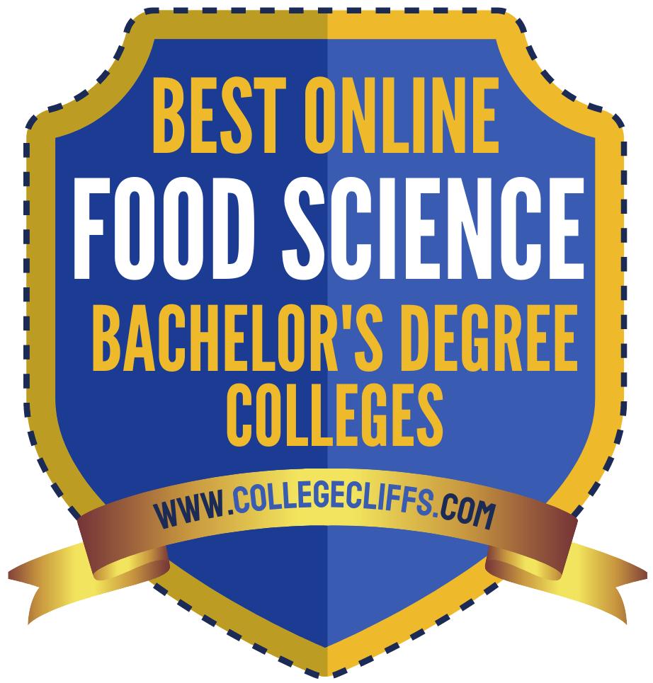 Best Online Bachelor Food Science Degree Colleges - badge