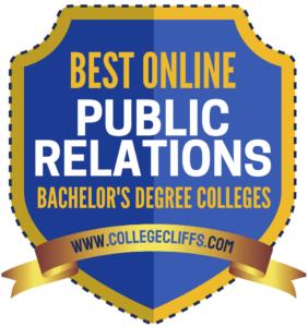 CC_Best Online Degrees Public Relations - badge