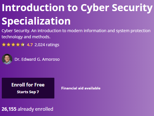 Free Online College Classes for Cybersecurity Image 3