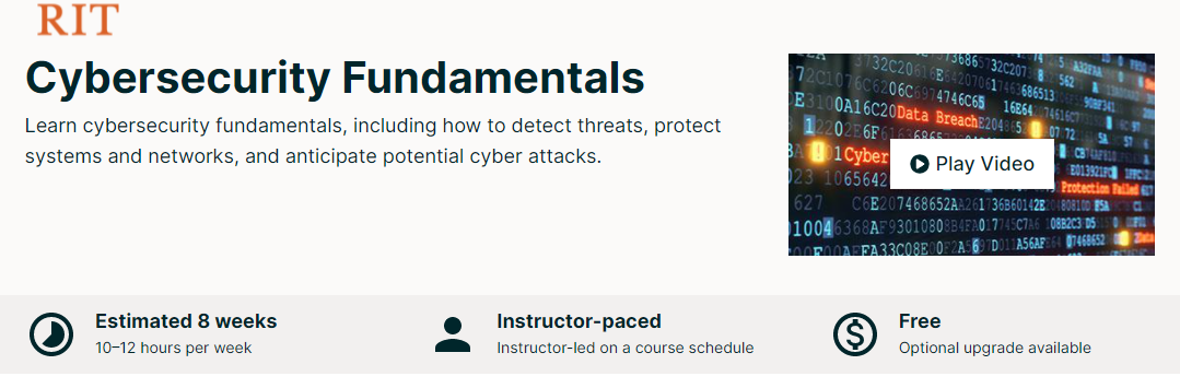 Free Online College Classes for Cybersecurity Image 7